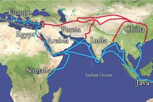 جاده ابریشم ؛کشو چین و ایران